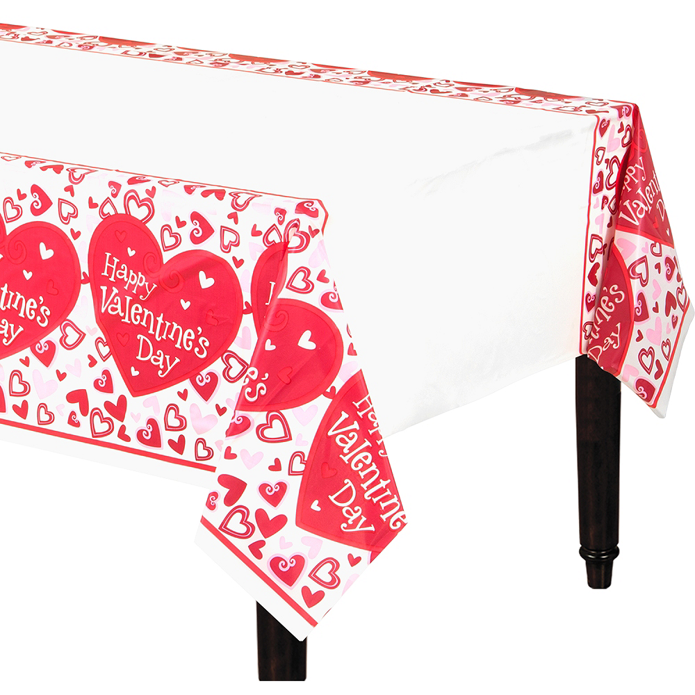 Be Mine Valentine's Day Table Cover Image #1