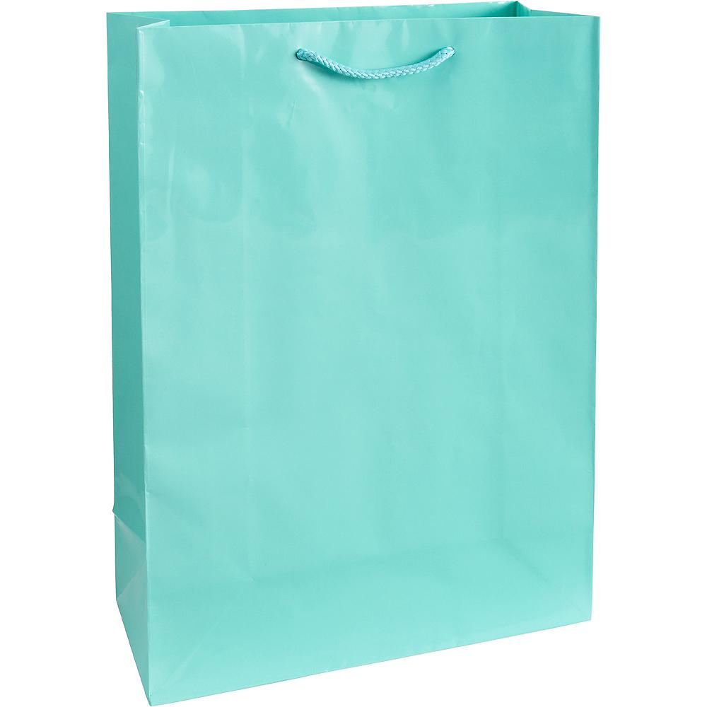 Large Robin's Egg Blue Gift Bag Image #1