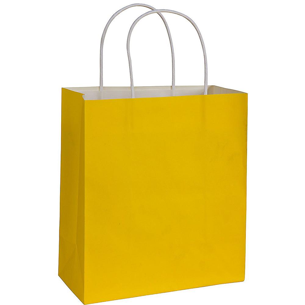 Large Yellow Kraft Gift Bag Image 1