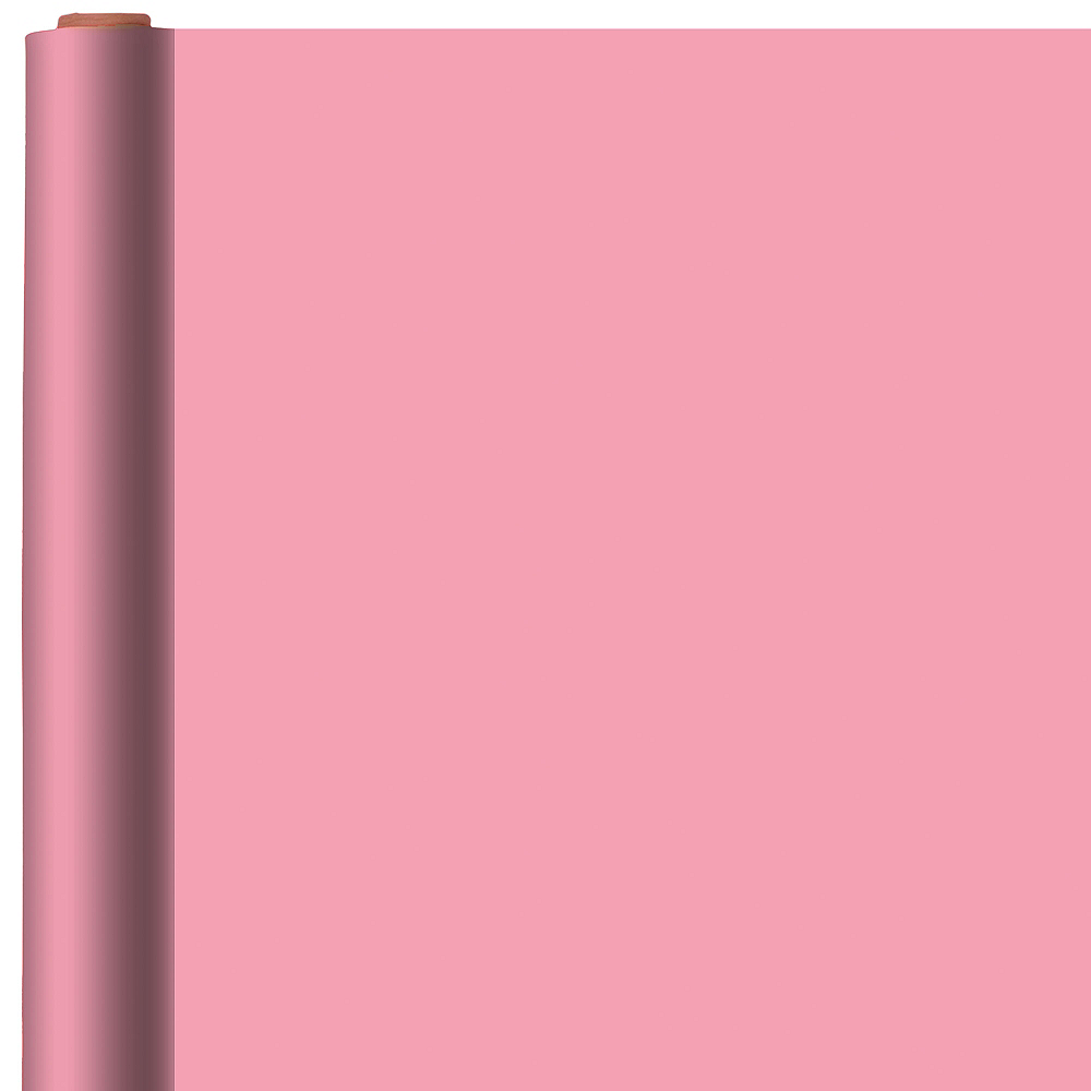 Solid Pink Gift Wrap Image #1
