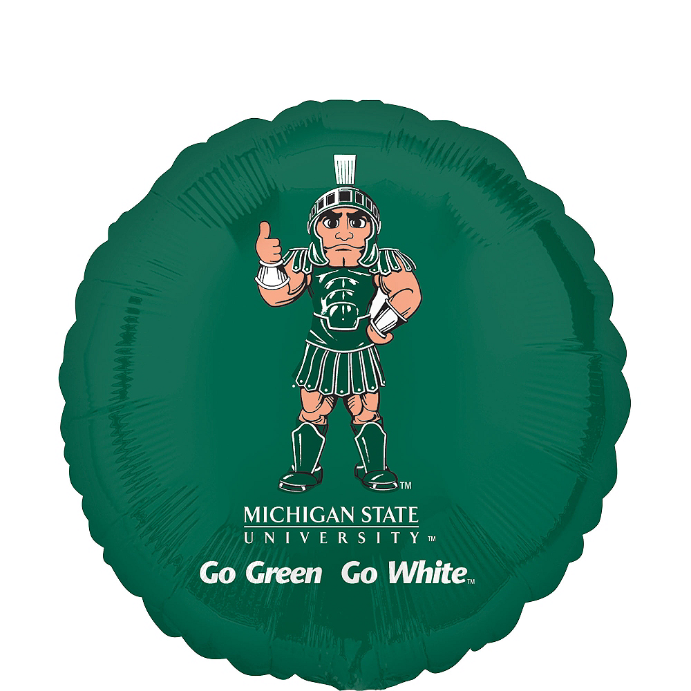 Nav Item for Michigan State Spartans Balloon Image #1