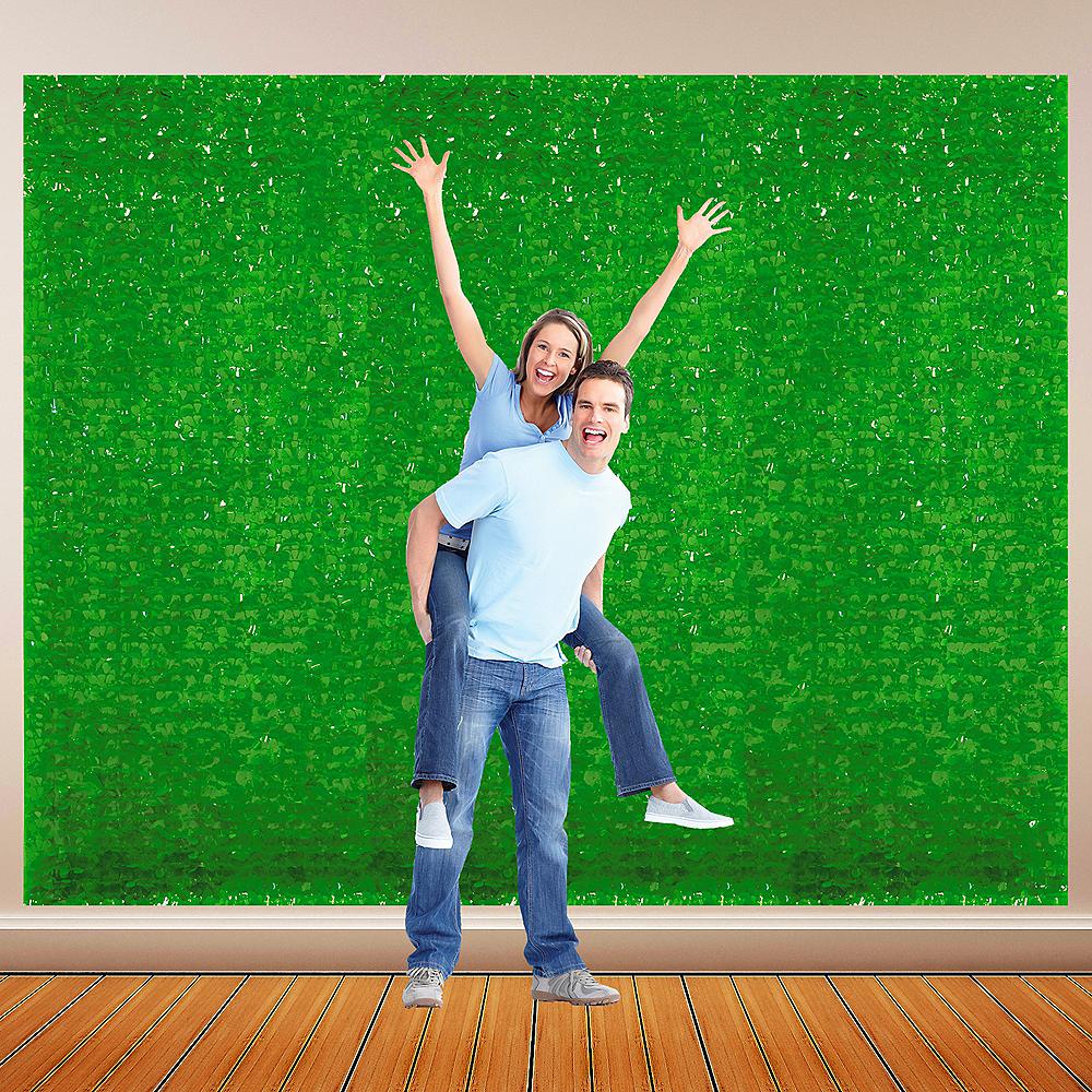 Green Vinyl Floral Sheeting Image #1