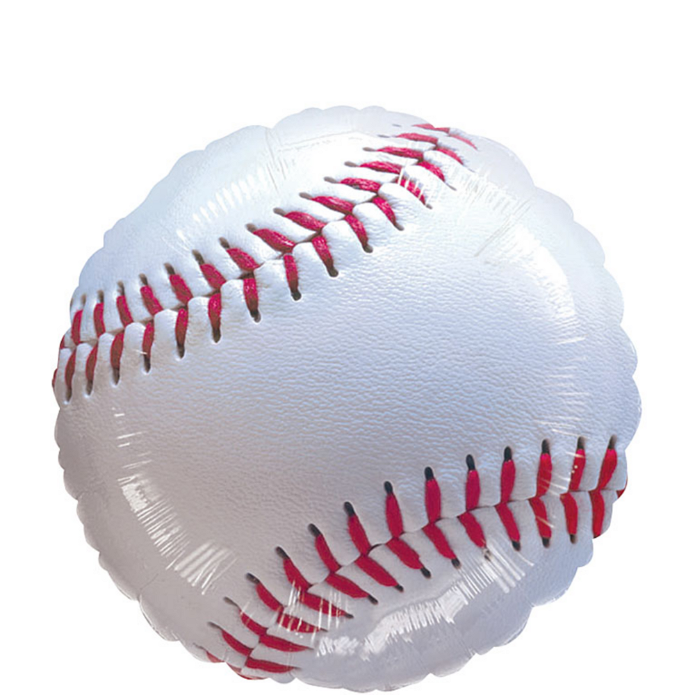 Nav Item for Baseball Balloon, 18in Image #1