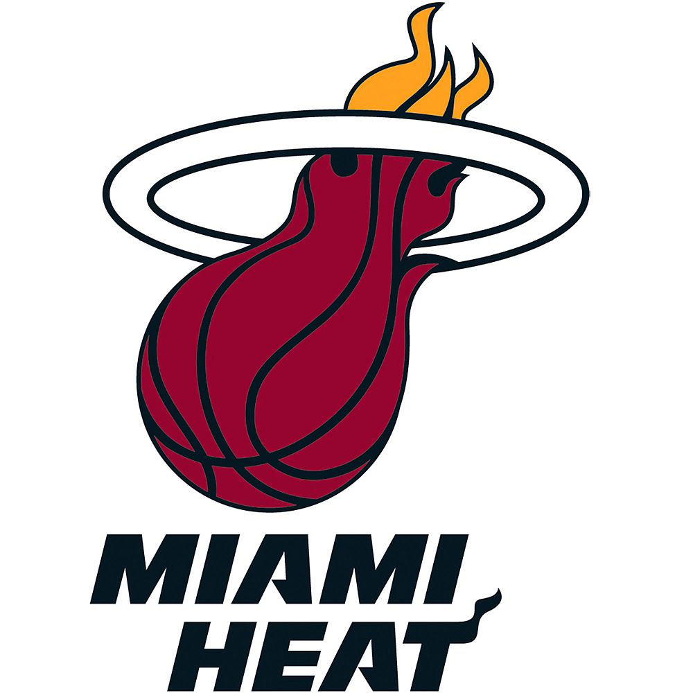 Nav Item for Miami Heat Cling Decal Image #1