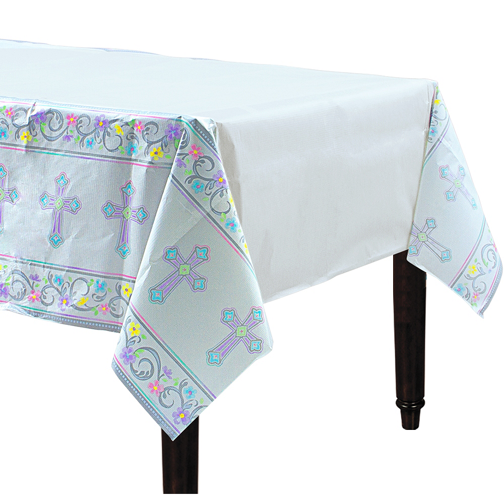 Blessed Day Religious Table Cover Image #1