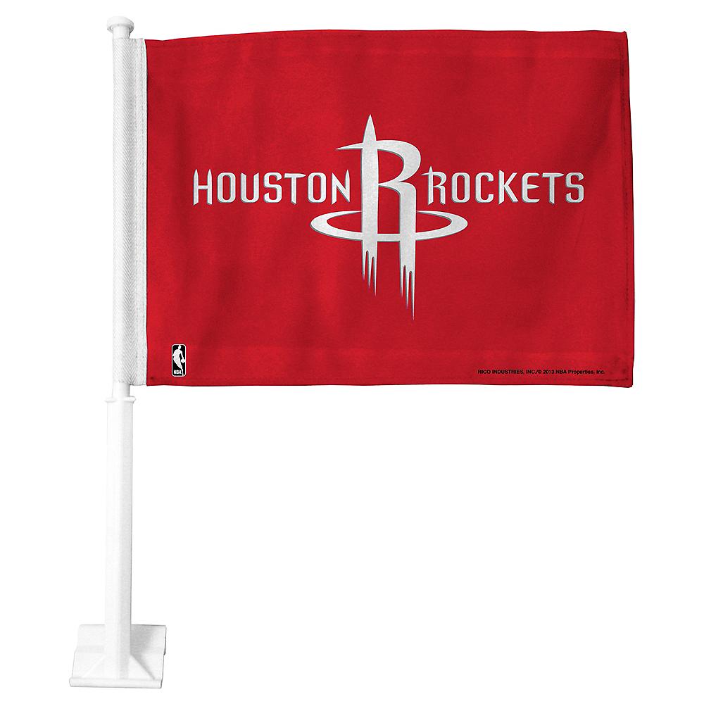 Houston Rockets Car Flag Image #1