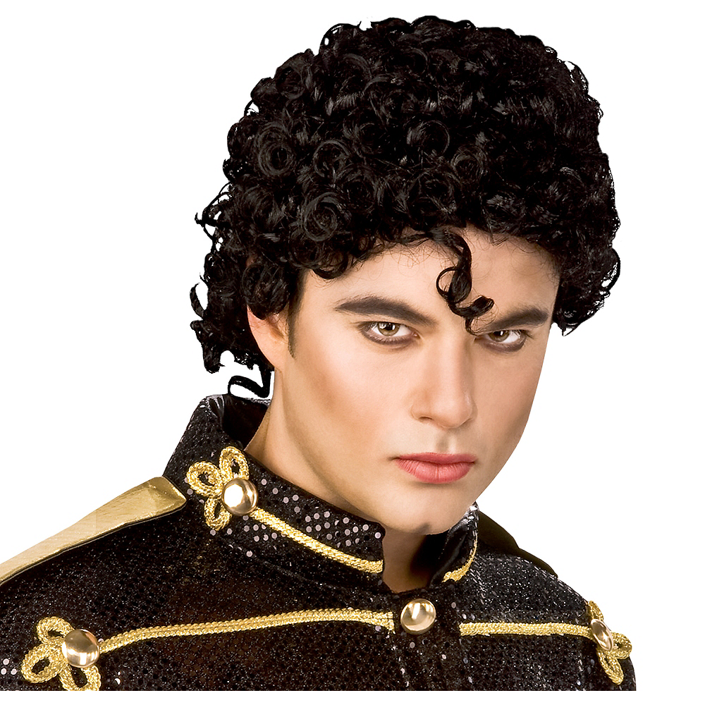 Curly Michael Jackson Wig Image #1