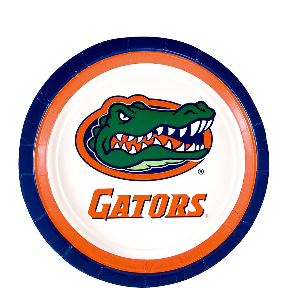 Florida Gators Dessert Plates 12ct Image #1