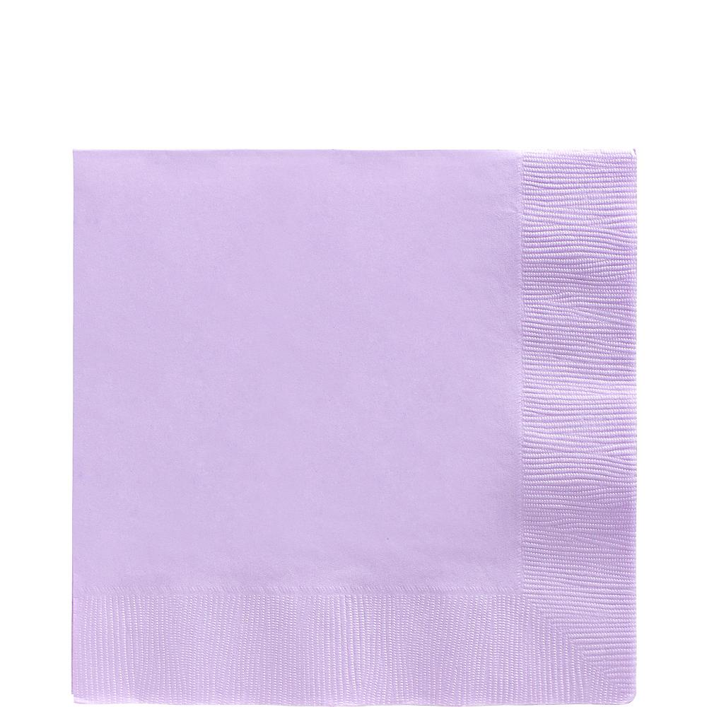 Lavender Lunch Napkins 50ct Image #1