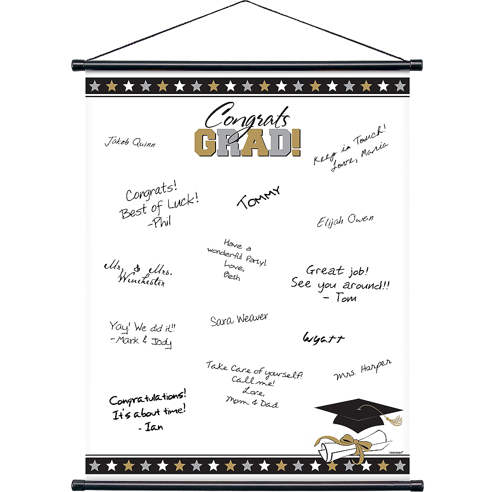 Graduation Autograph Scroll Image #1