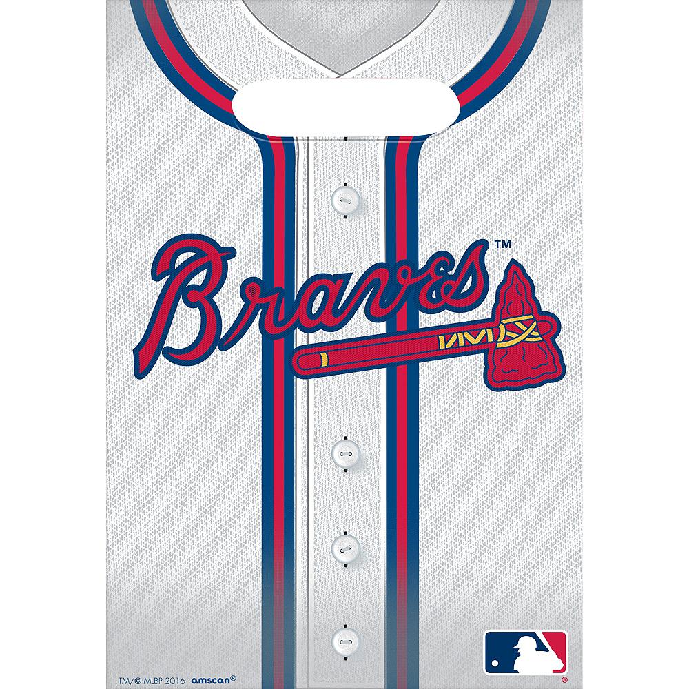 Atlanta Braves Favor Bags 8ct Image #1