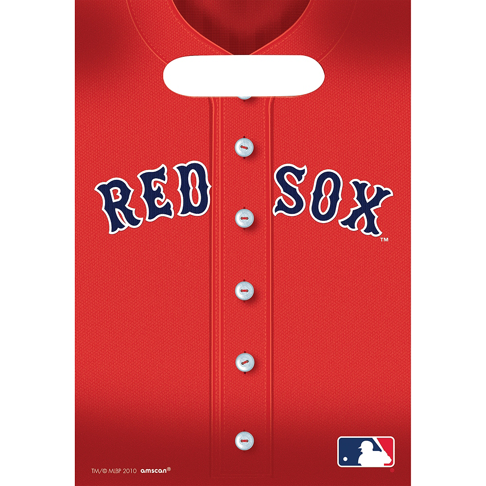 Boston Red Sox Favor Bags 8ct Image #1