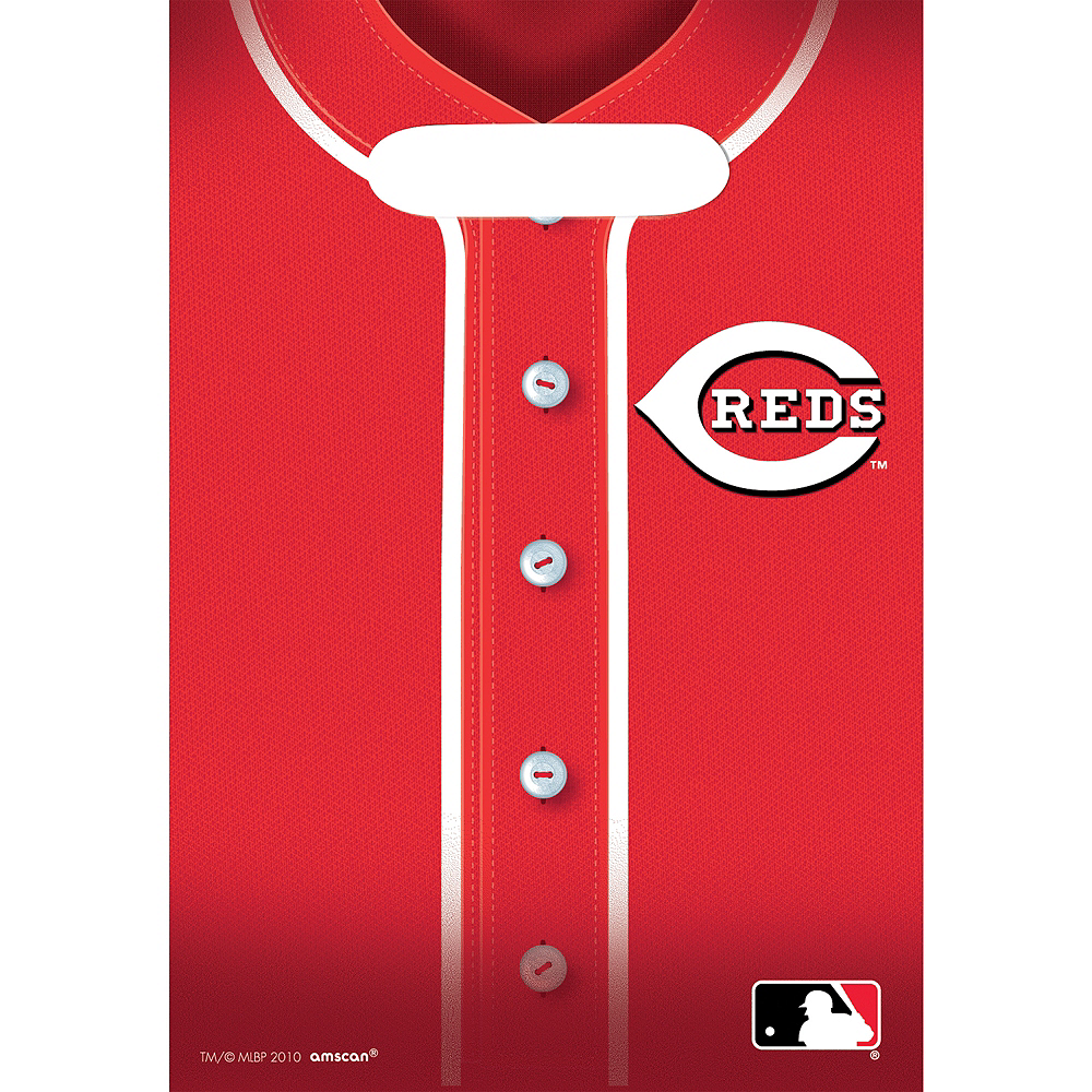 Nav Item for Cincinnati Reds Favor Bags 8ct Image #1