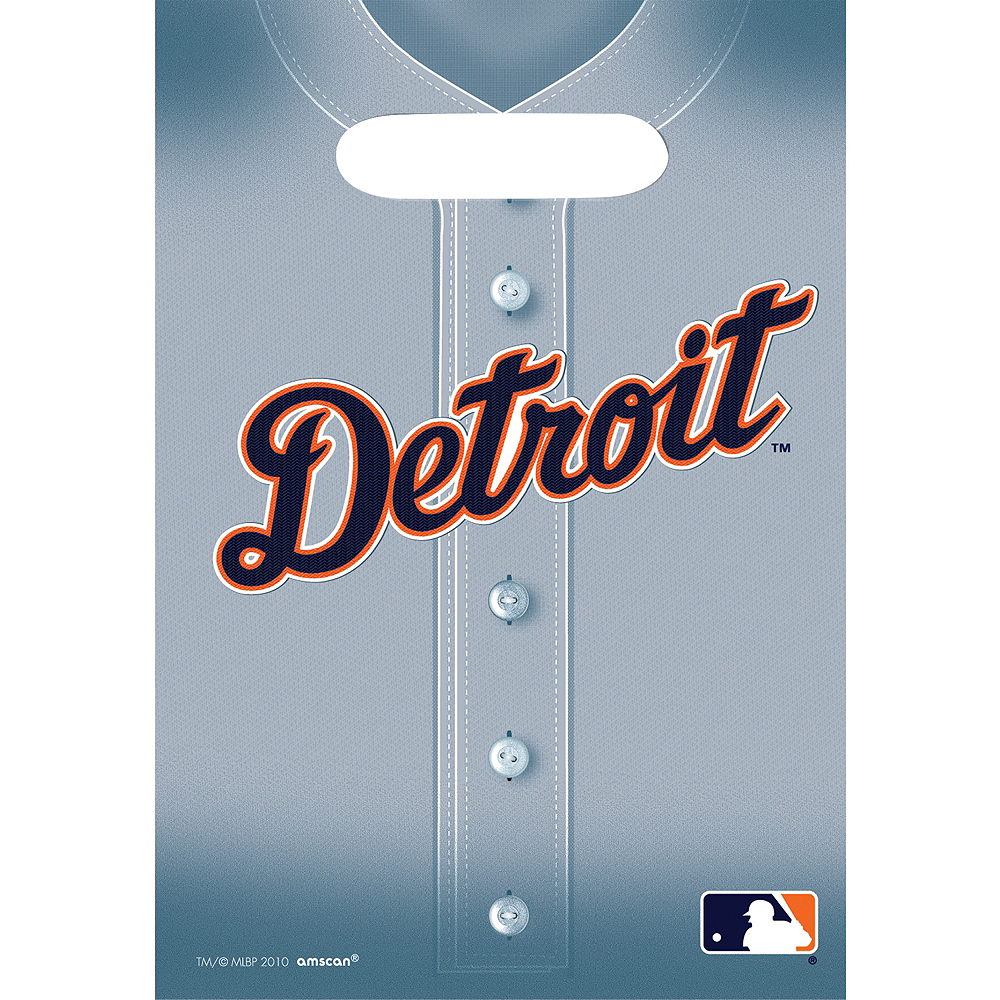 Detroit Tigers Favor Bags 8ct Image #1