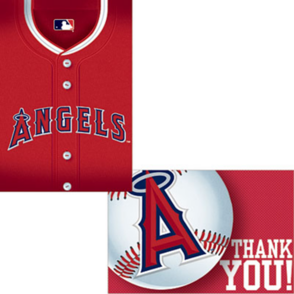 Los Angeles Angels Invitations & Thank You Notes for 8 Image #1