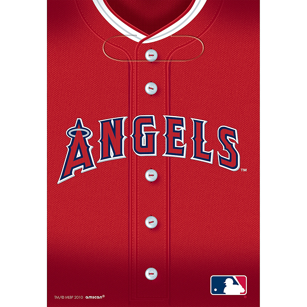 Los Angeles Angels Favor Bags 8ct Image #1