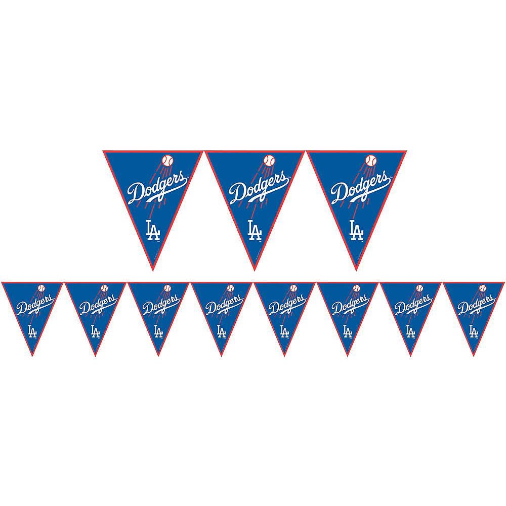 Los Angeles Dodgers Pennant Banner Image #1
