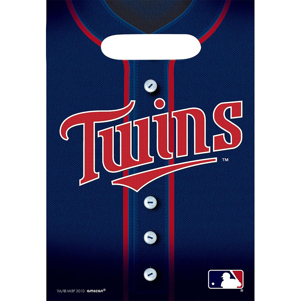 Minnesota Twins Favor Bags 8ct Image #1