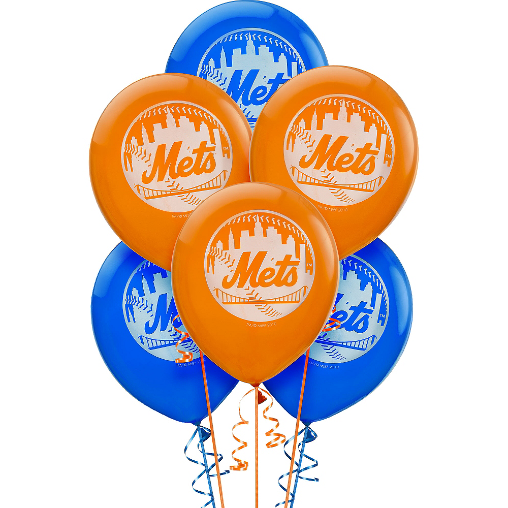New York Mets Balloons 6ct Image #1