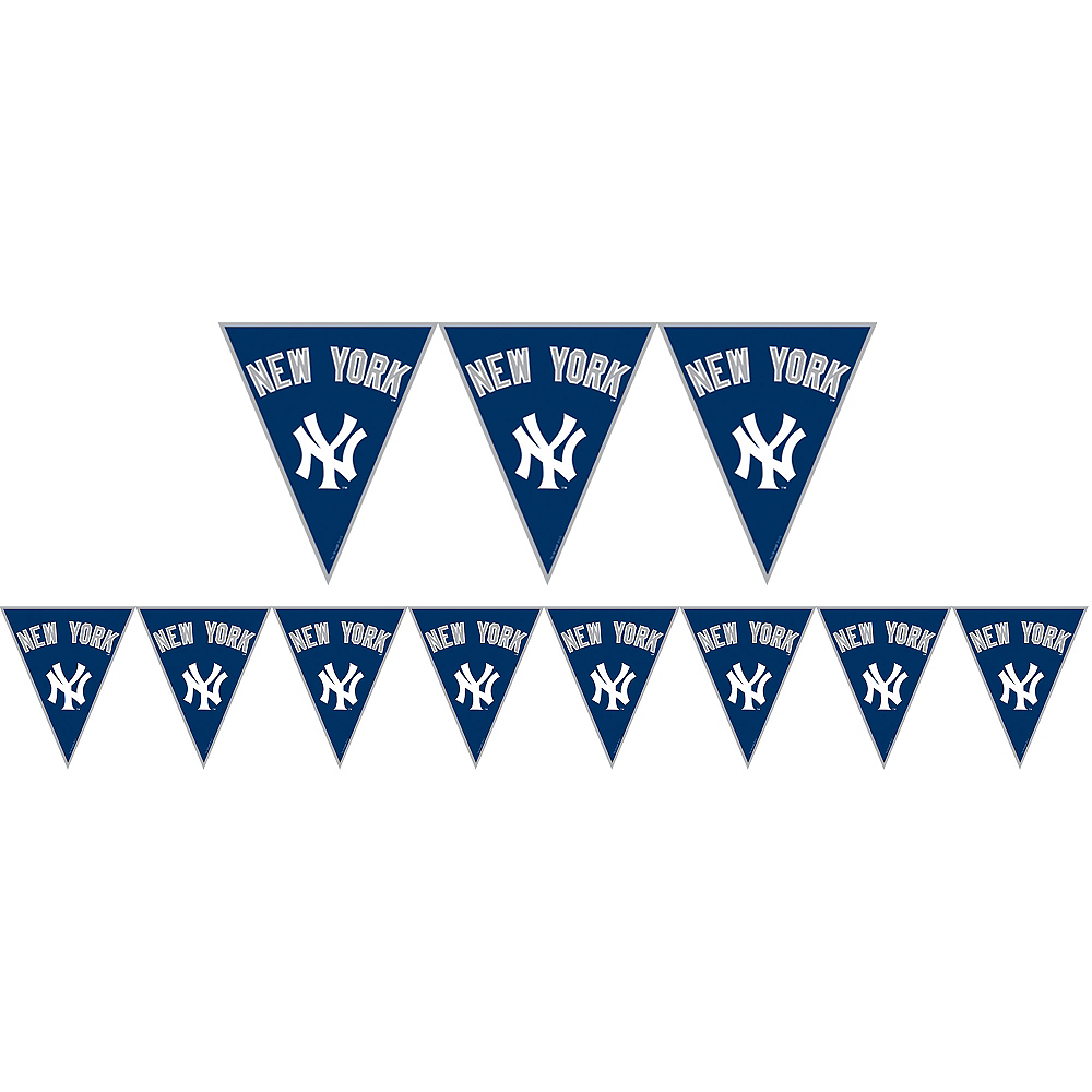 Nav Item for New York Yankees Pennant Banner Image #1