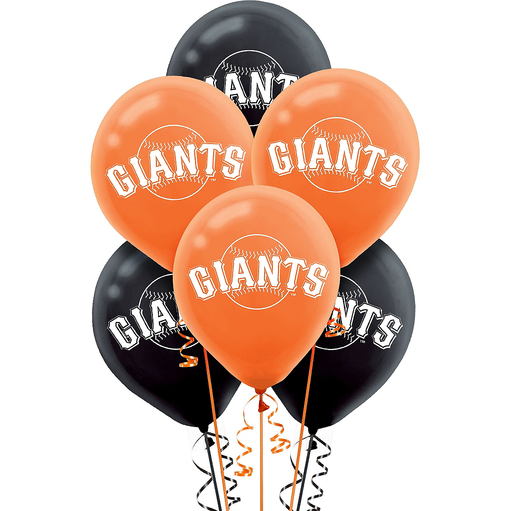 San Francisco Giants Balloons 6ct Image 1
