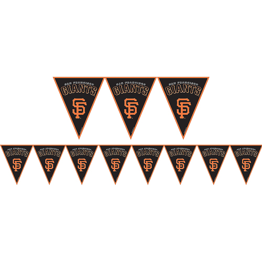 San Francisco Giants Pennant Banner Image #1