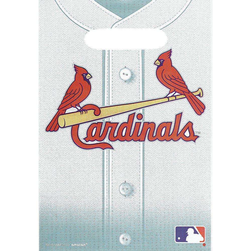 St. Louis Cardinals Favor Bags 8ct Image #1