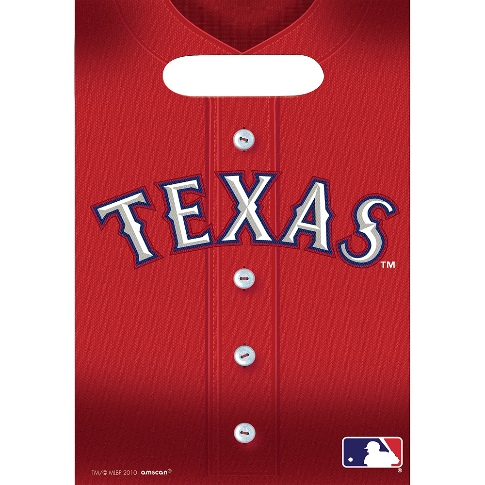 Texas Rangers Favor Bags 8ct Image #1