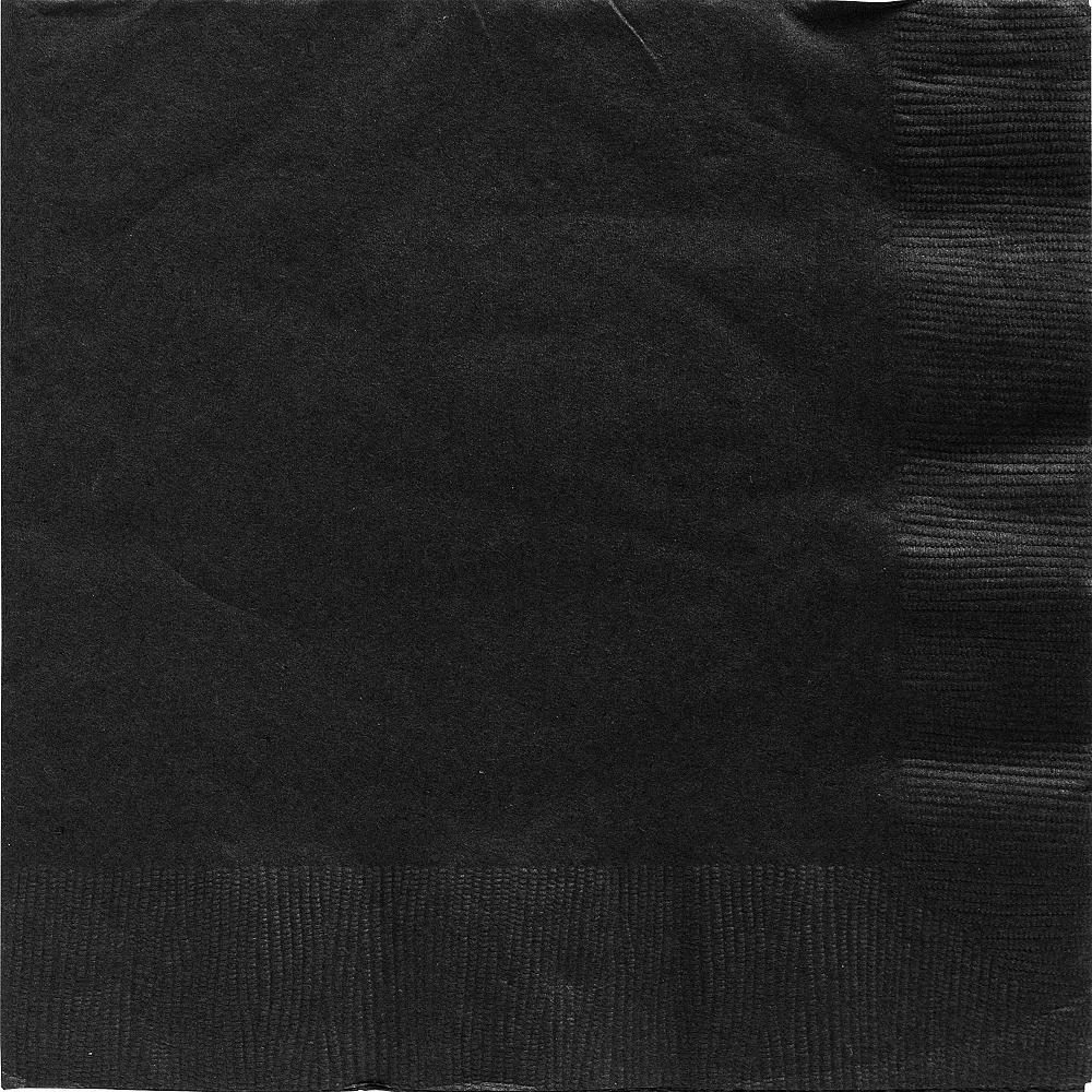 Black Dinner Napkins 20ct Image #1
