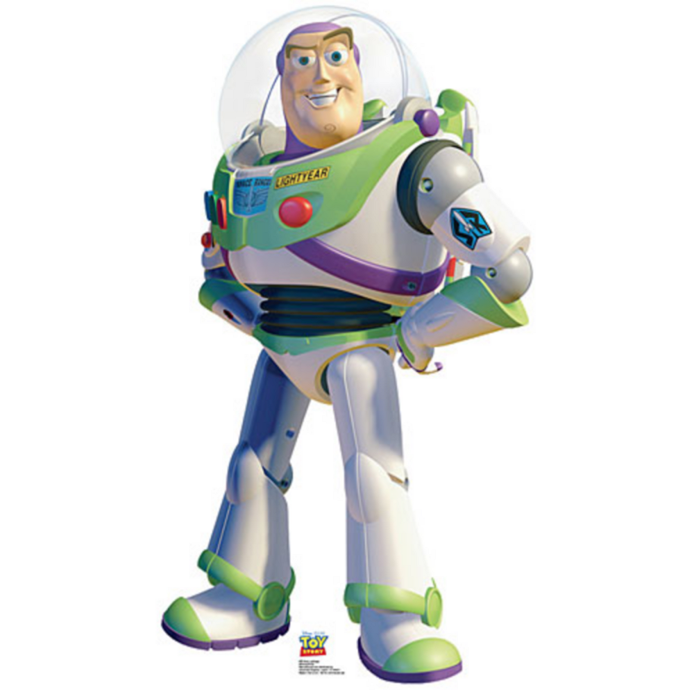 Nav Item for Buzz Lightyear Life Size Cardboard Cutout 48in Image #1