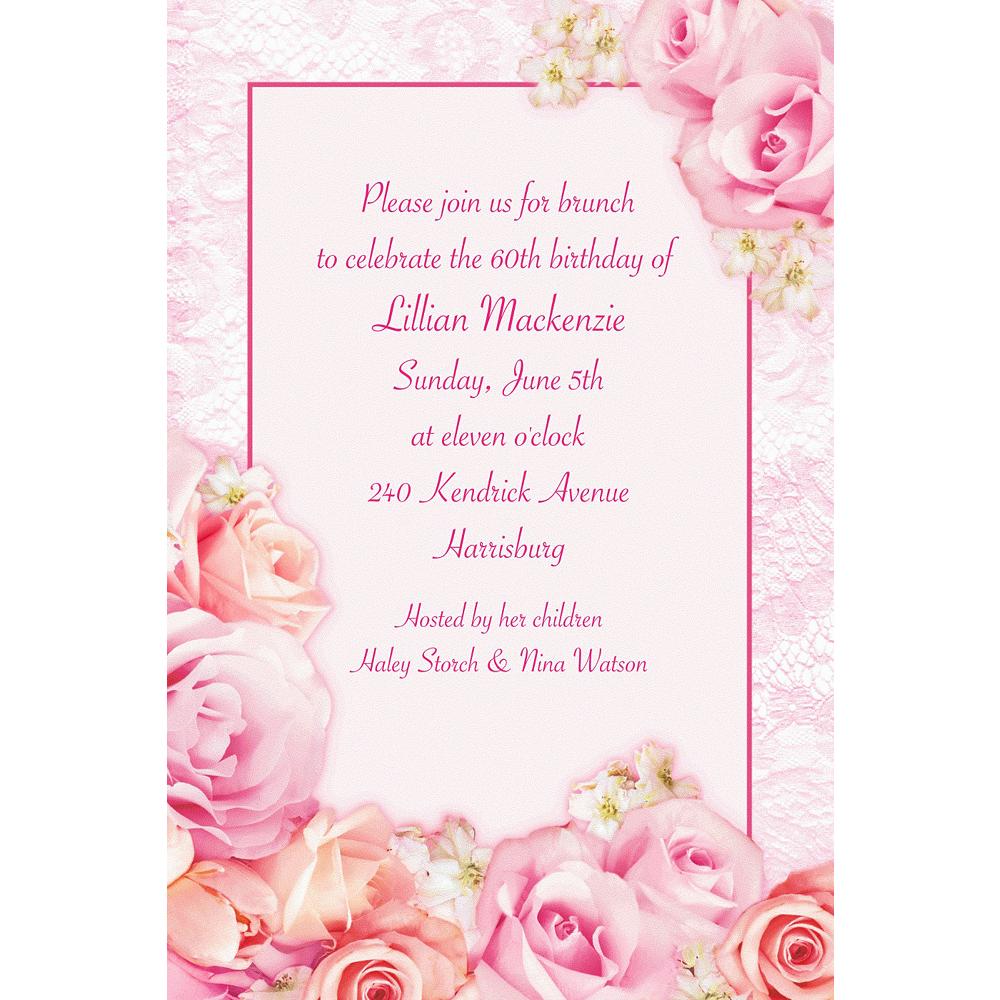 Custom Blossom Invitations Image #1
