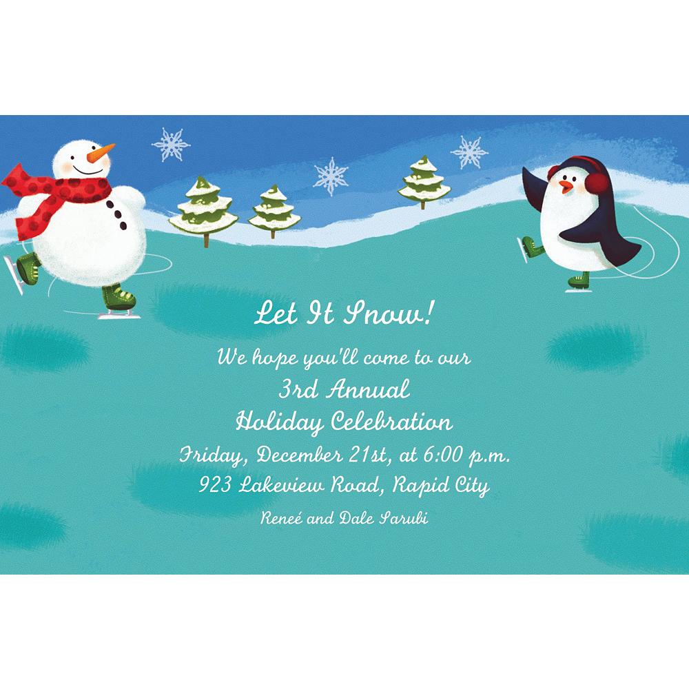 Custom Holiday Fun Invitations Image #1