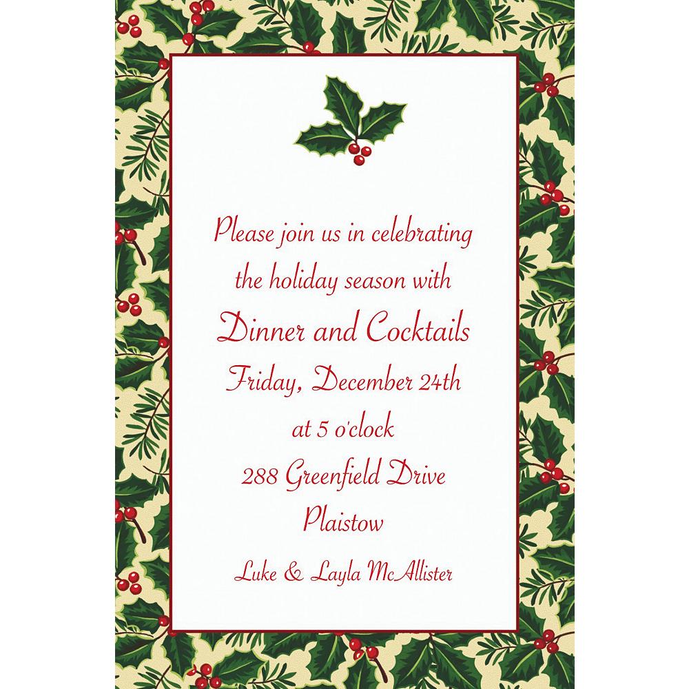 Custom Holiday Treasures Invitations Image #1
