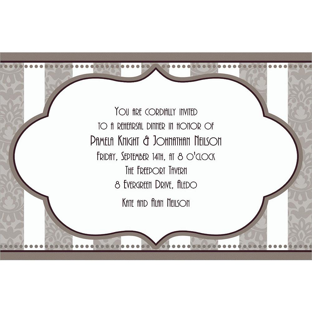 Custom Bride & Groom Bridal Shower Invitations | Party City