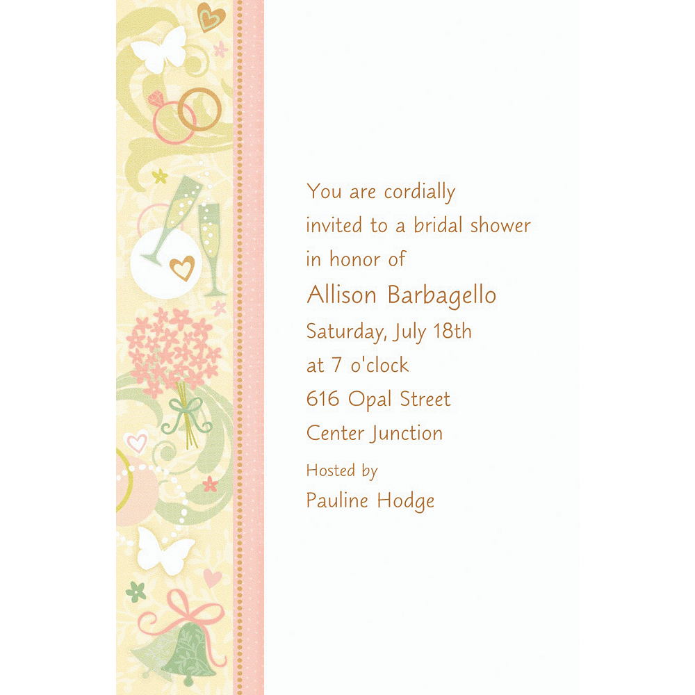 Custom Tying the Knot Bridal Shower Invitations | Party City