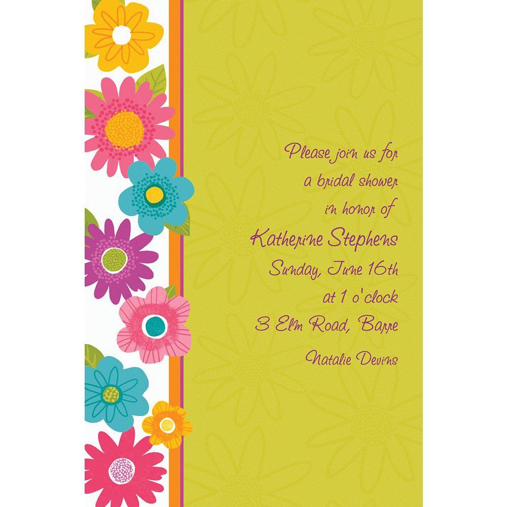 Custom Spring Fling Invitations Image #1