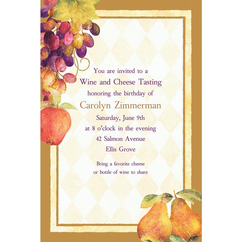 Custom Sonoma Invitations Image #1