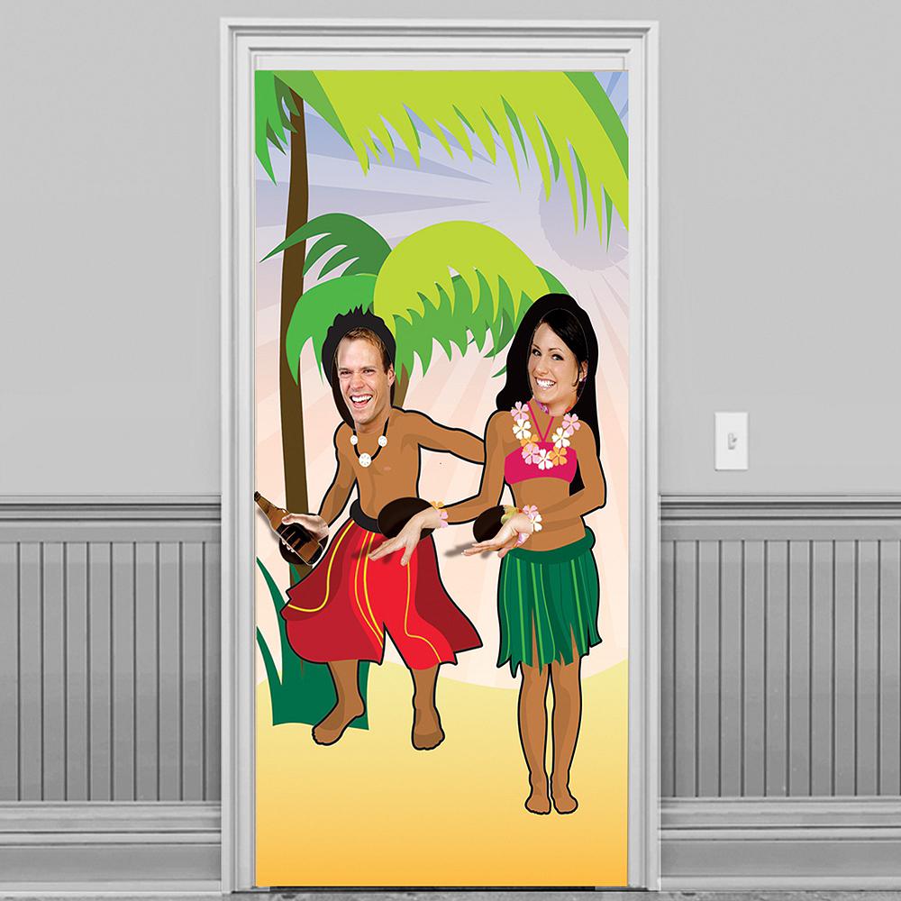 Luau Dancers Photo Door Banner Image #1