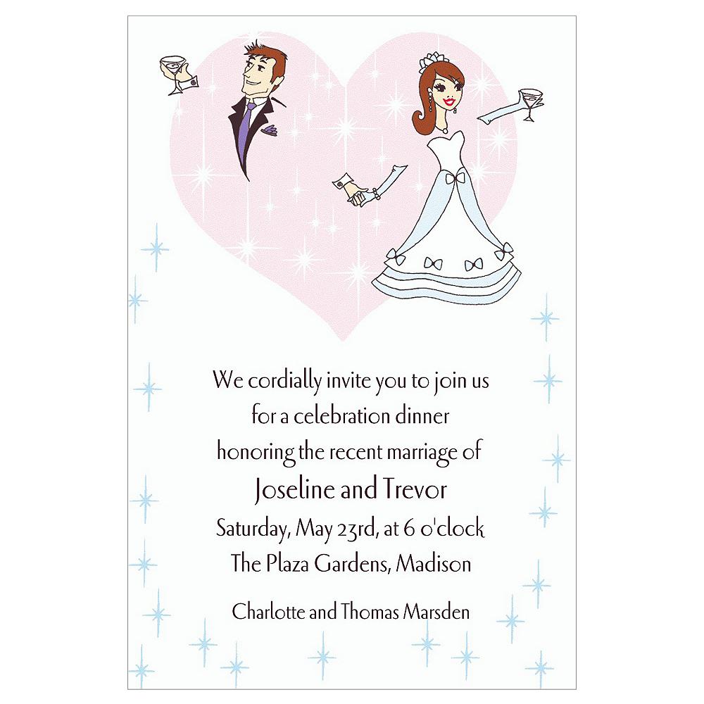 Custom Wedding Couple Wedding Invitations Image #1