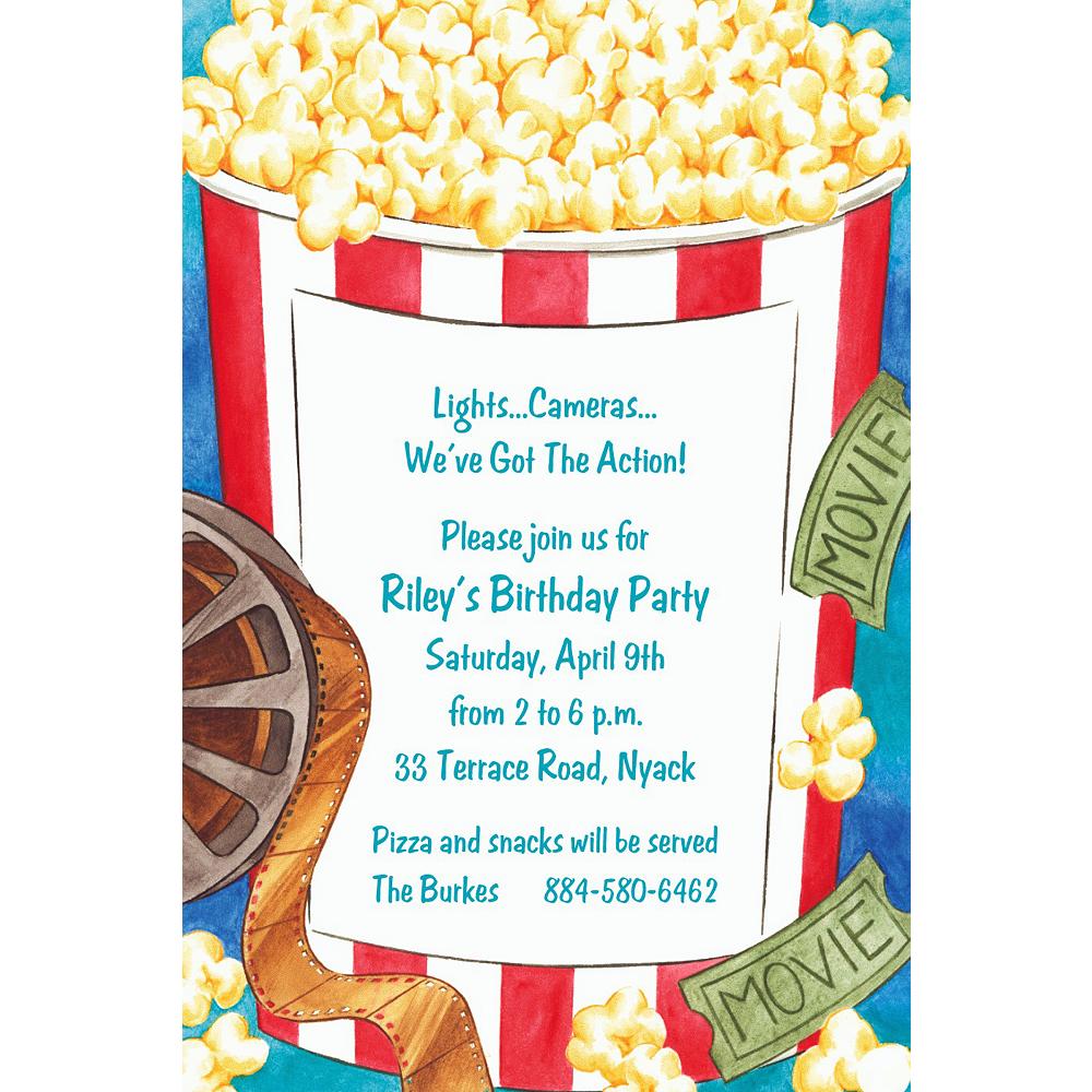Custom Movie Night Invitations | Party City