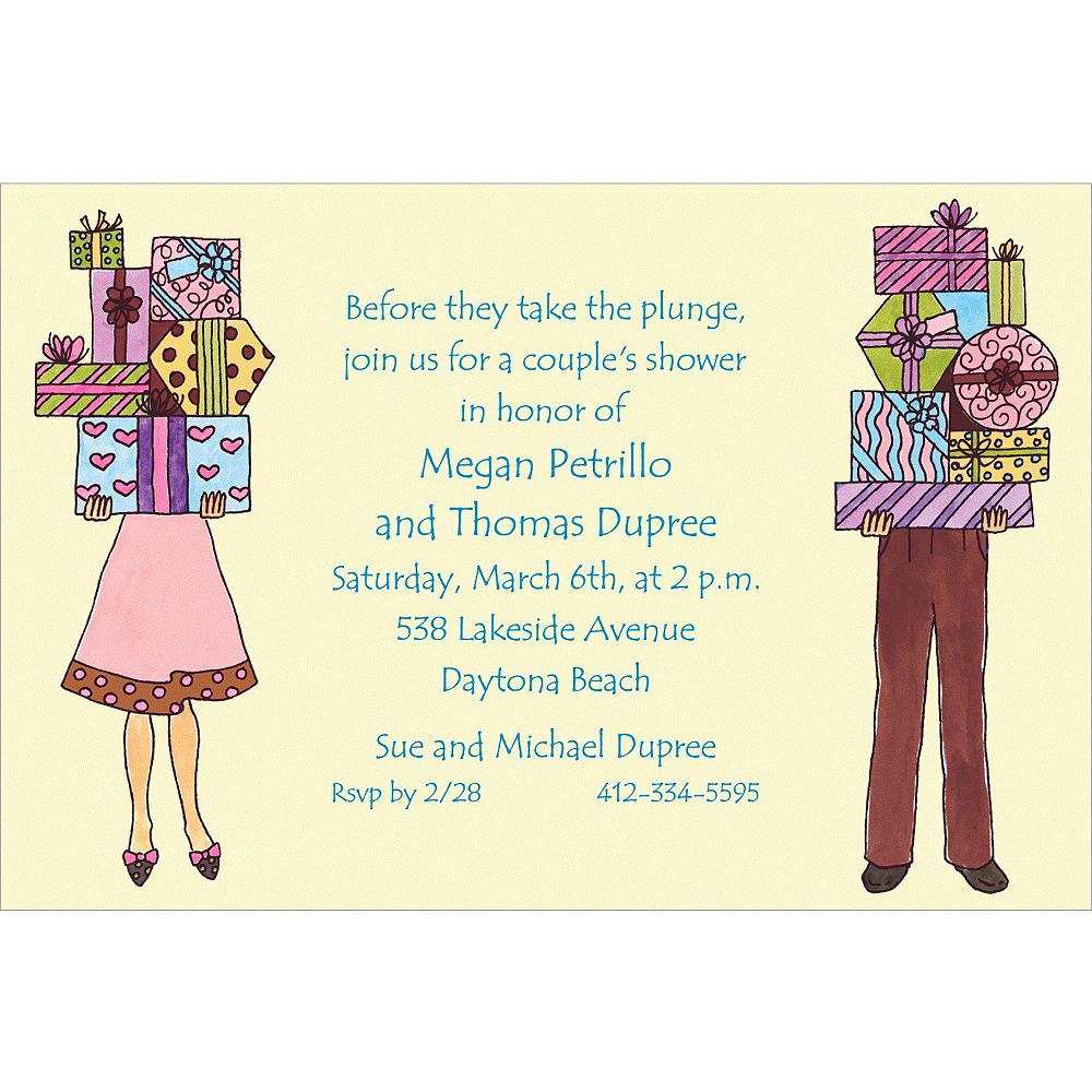 Custom Couple\'s Bridal Shower Invitations | Party City