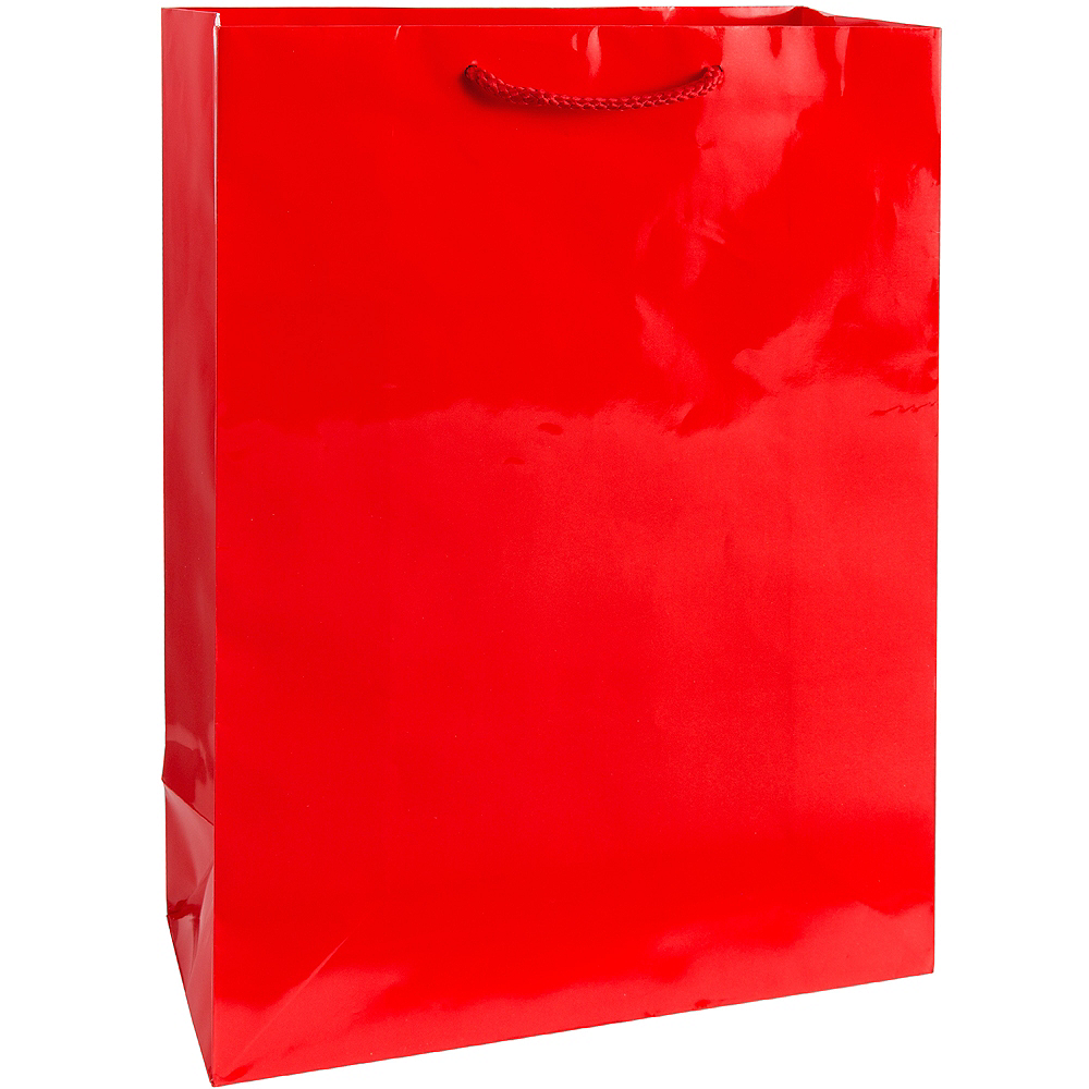 Large Red Gift Bag Image #1