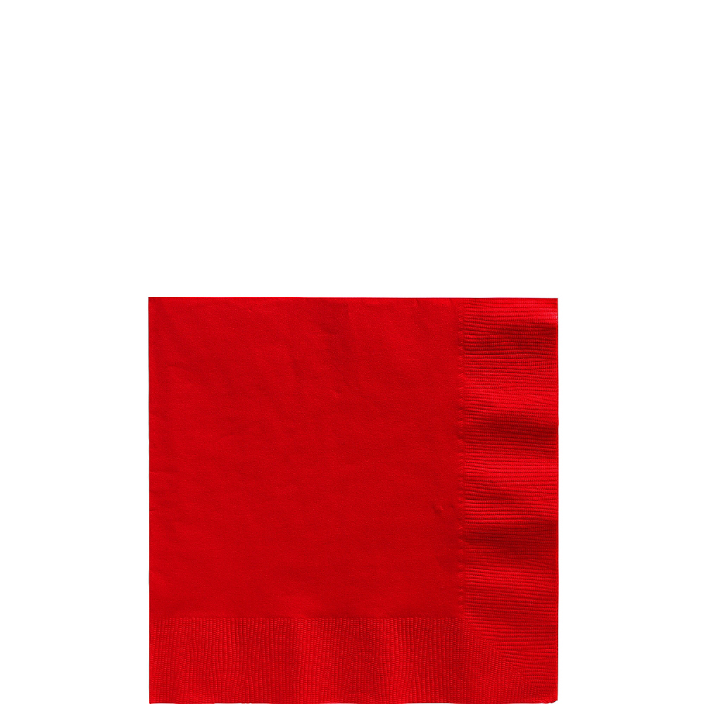 Nav Item for Red Beverage Napkins 50ct Image #1