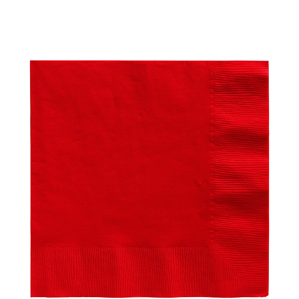 Nav Item for Red Lunch Napkins 50ct Image #1