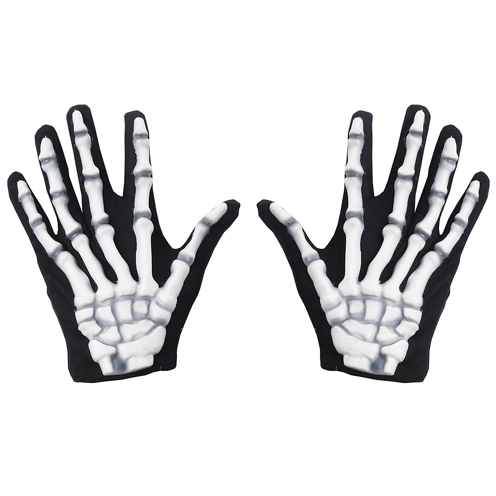 Child Classic Skeleton Gloves Image #1