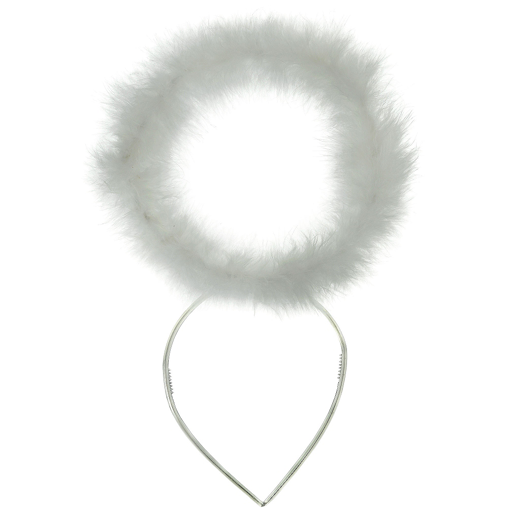 Nav Item for White Marabou Halo Image #3