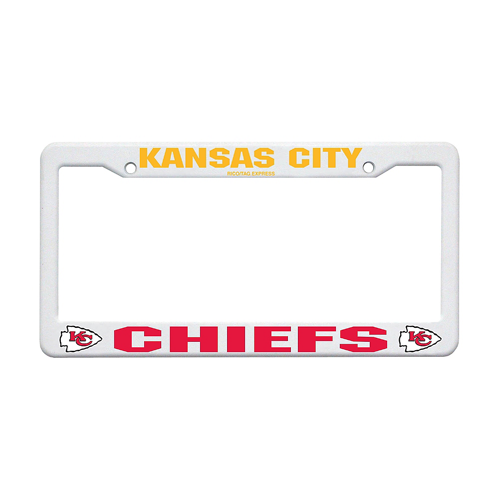 Kansas City Chiefs License Plate Frame Image #1