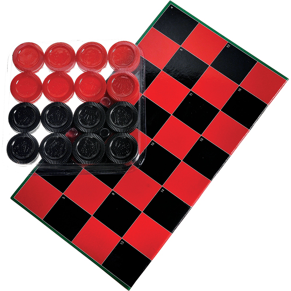 Checkers Game Image #1