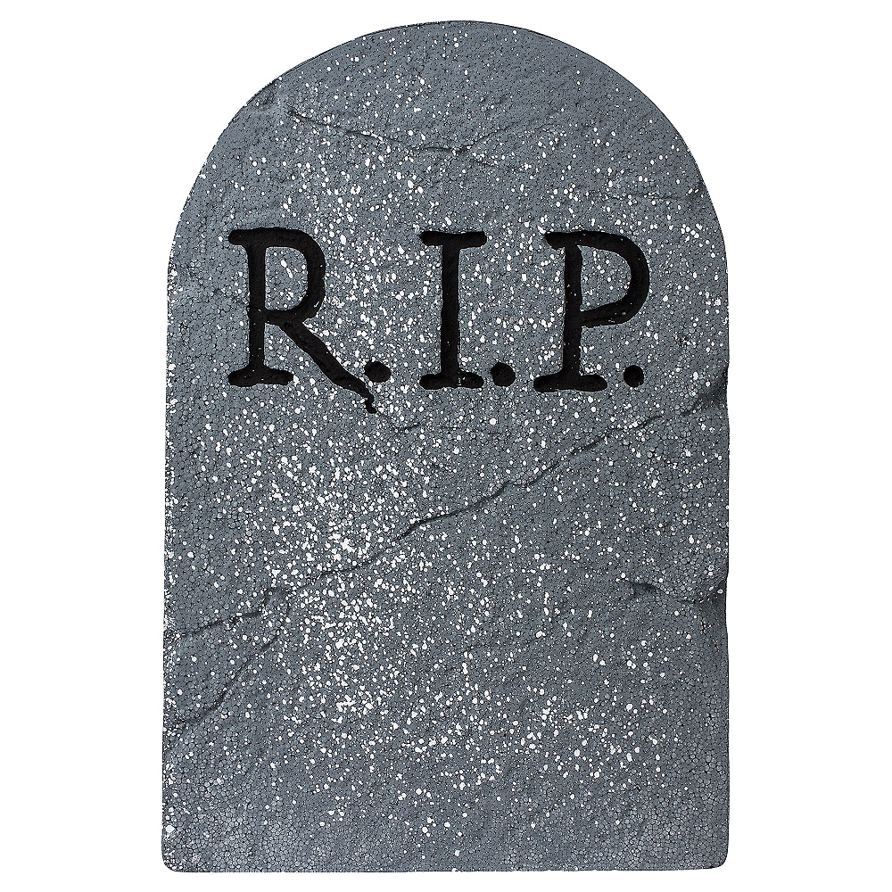 RIP Tombstone Decoration | Party City