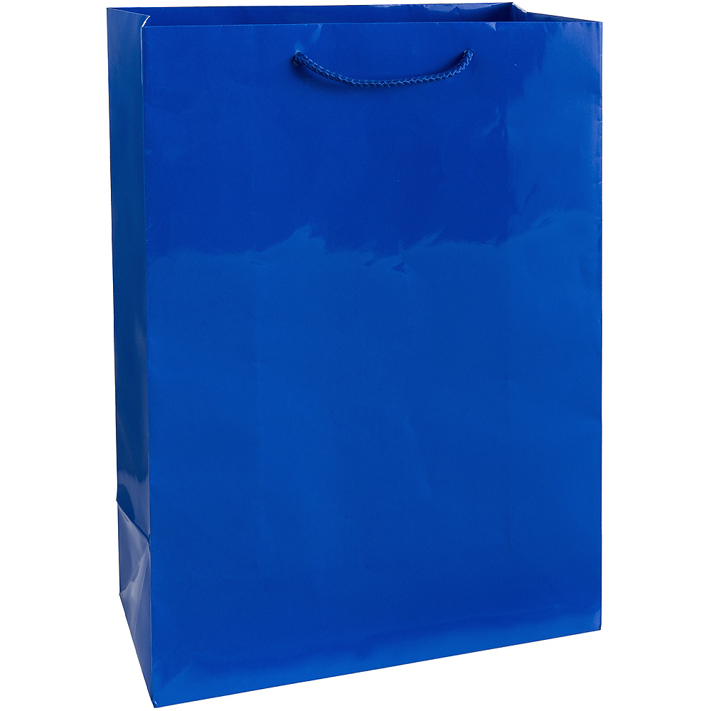 Large Royal Blue Gift Bag Image #1
